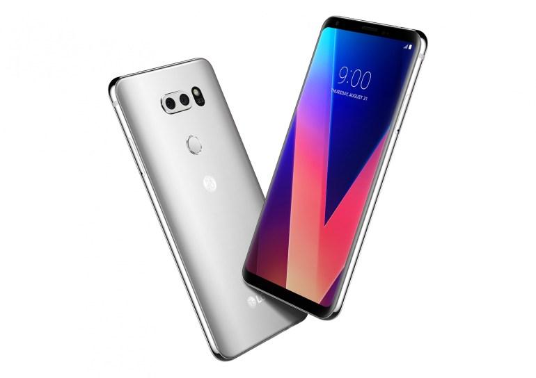 Обновлено: Представлен защищенный смартфон LG V30: 6-дюймовый дисплей OLED FullVision, сдвоенная камера с диафрагмой F/1,6 и 32-разрядный ЦАП