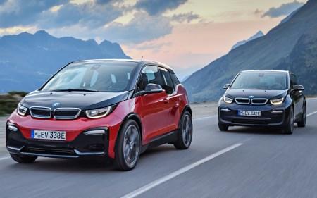 Электромобиль BMW i3 пережил легкий рестайлинг и получил новую версию – хот-хэтч BMW i3s