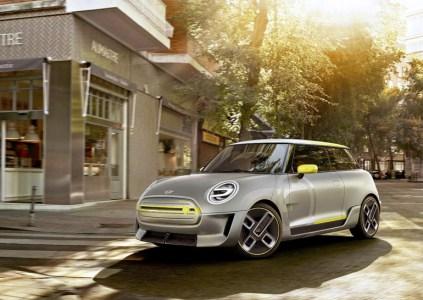 BMW показала концептуальные изображения электромобиля Mini