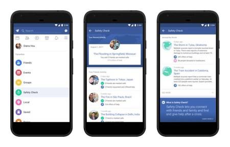 Facebook выделила функцию Safety Check в постоянный раздел