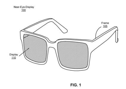 Новый патент Facebook рассказывает об очках дополненной реальности