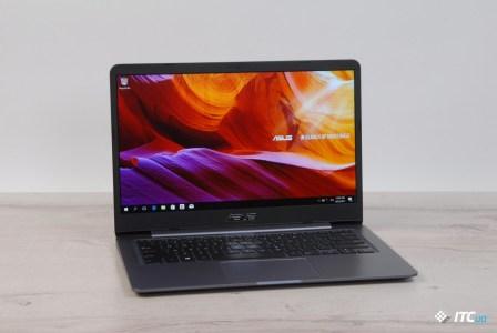 """Обзор ASUS VivoBook S14 (S406UА): 14"""", 1,2 кг и новые Intel Core 8-го поколения"""
