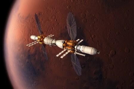 Не Маском единым: Lockheed Martin представила концепт орбитальной станции Mars Base Camp и пилотируемого спускаемого аппарата
