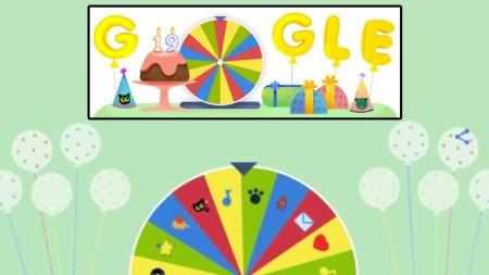 Google отметил 19-летие мини-игрой с 19 лучшими интерактивными играми из дудлов за все время