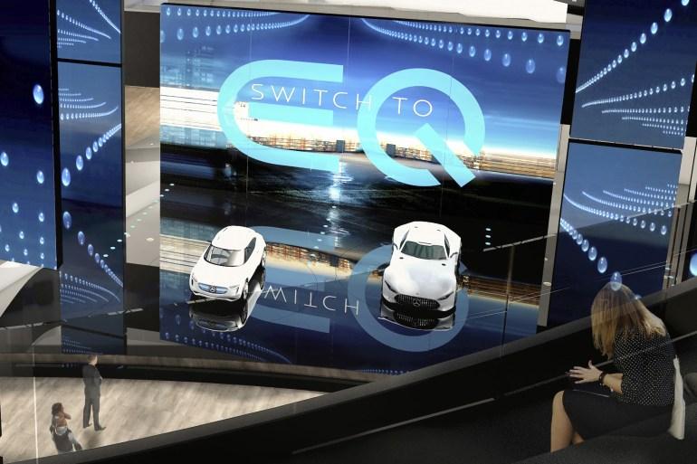 Mercedes подготовил для Франкфуртского автошоу компактный электрический хэтчбек EQ A Concept [видео]