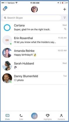 Microsoft готовит к выпуску обновлённый Skype для iOS с рядом улучшений