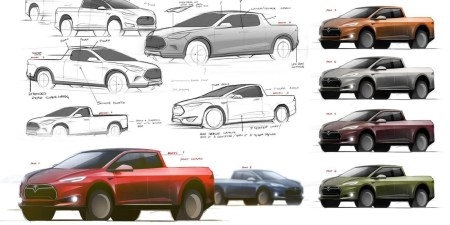 Илон Маск размышляет над выпуском мини-версии грузовика Tesla Semi вместо разработки абсолютно новой модели пикапа