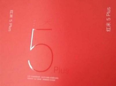 Изображение розничной упаковки указывает на скорый анонс смартфона Xiaomi Redmi 5 Plus