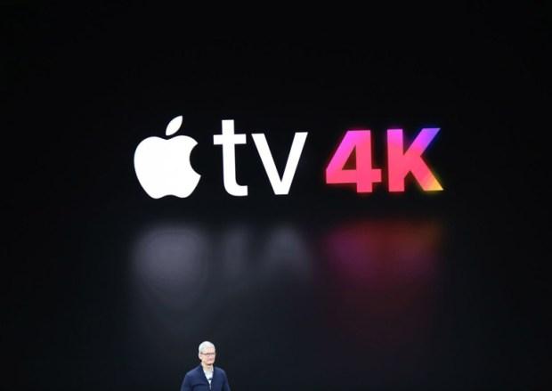Анонсирована телевизионная приставка Apple TV 4K