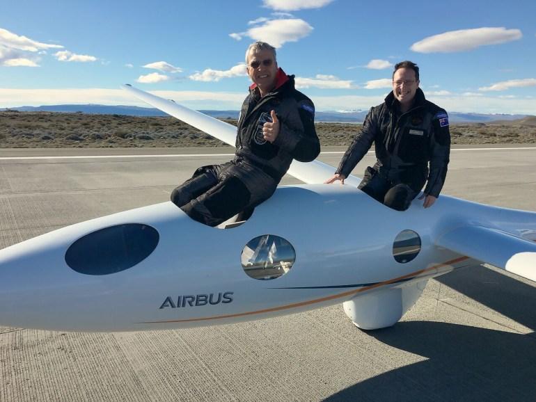 Планер Perlan 2 поднялся на рекордную для безмоторных летательных аппаратов высоту