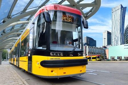 Кличко: Польские трамваи Pesa будут производить в Киеве