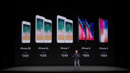 Названы цены на новые смартфоны Apple в Украине: iPhone 8 – от 25 999 грн, iPhone 8 Plus — от 29999 грн и iPhone Х – от 37 999 грн.