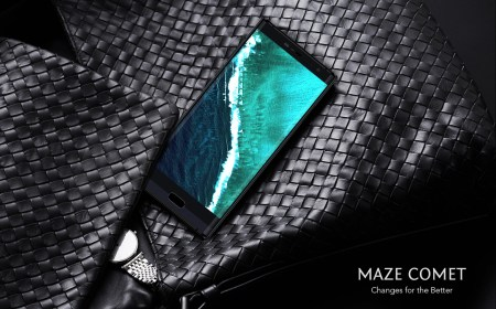 Maze Comet — смартфон с люксовым дизайном