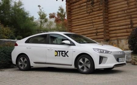 ДТЭК начала пересаживаться на электромобили и уже закупила пять хэтчбеков Hyundai Ioniq