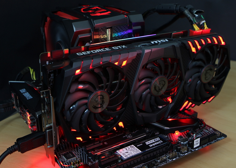 Обзор <b>видеокарты</b> MSI <b>GeForce GTX</b> 1080 Ti GAMING X TRIO ...