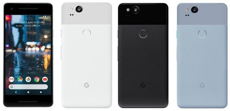 Эван Бласс опубликовал фотографии смартфонов Google Pixel 2 и Pixel 2 XL за день до официального анонса