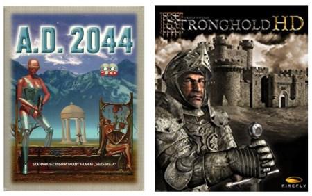 На GOG бесплатно раздают игры A.D. 2044 и Stronghold HD, акция продлится до завтрашнего дня