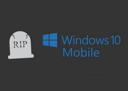 Последний производитель отказался от смартфонов с Windows 10