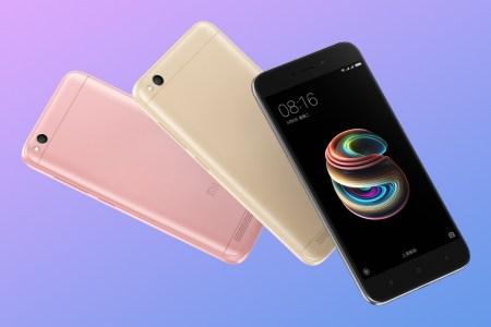 Представлен Xiaomi Redmi 5A: 5-дюймовый HD-экран, металлический корпус, Snapdragon 425, 2/16 ГБ, камера на 13 Мп и ценник $90