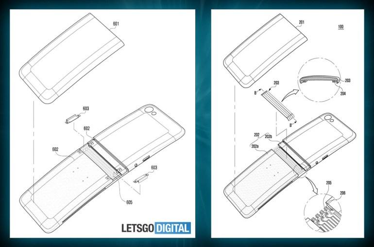 Новые чертежи дают представление о дизайне складного смартфона Samsung