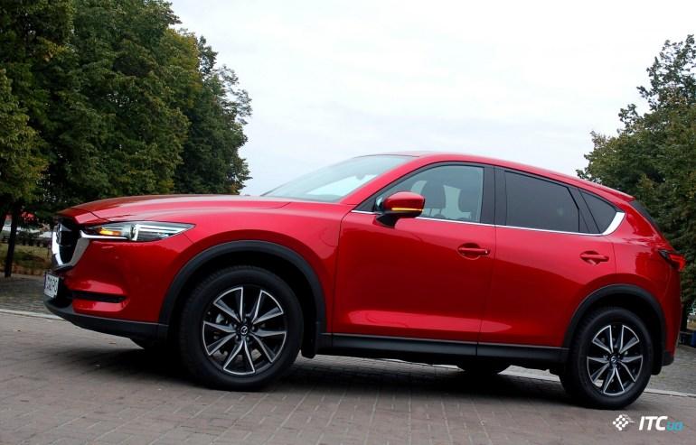 Едем на новой Mazda CX-5 в премиум-класс. Я серьезно!