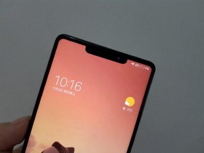 Предполагаемые изображения смартфона Xiaomi Mi Mix 2s демонстрируют безрамочный экран с «челочкой», как у iPhone X