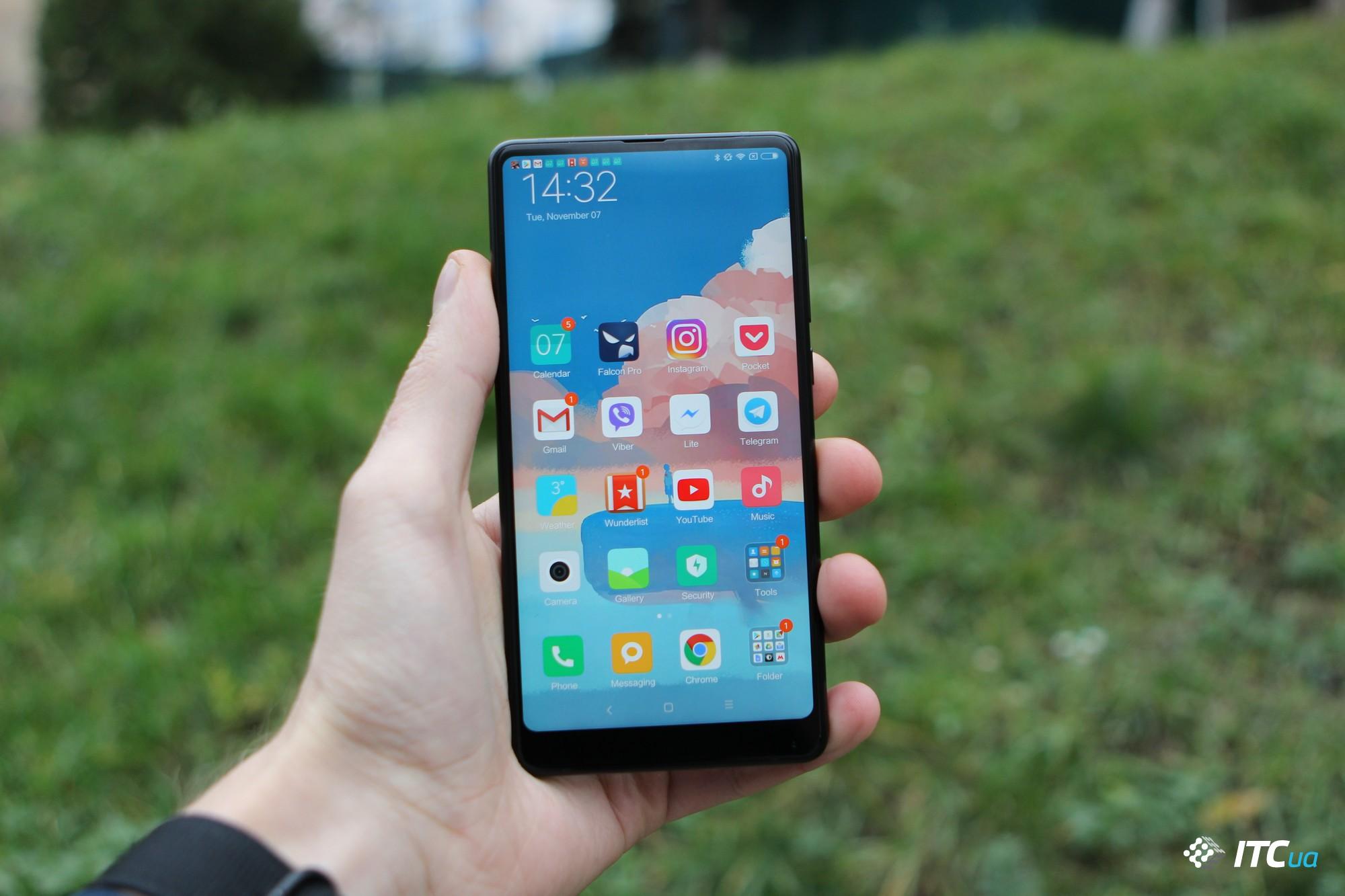 Xiaomi начнёт официальные продажи смартфона Mi Mix 2 в Украине по цене 14 999 грн - ITC.ua