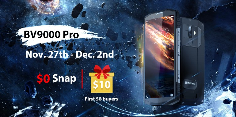 BlackView BV9000 Pro - «полноэкранный» смартфон с защитой IP68 со скидкой только на этой неделе