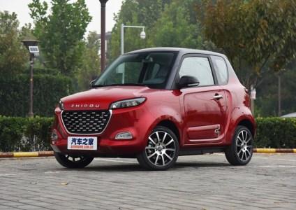 В Китае представлен городской электромобиль Zhidou D3 стоимостью от $7500