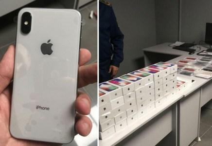 В одесском аэропорту при досмотре у украинца обнаружили 43 незадекларированных iPhone X