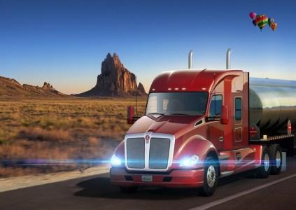 American Truck Simulator – New Mexico: торопиться не надо