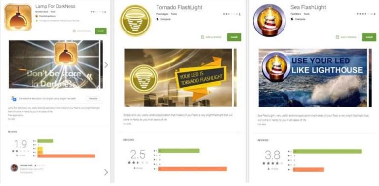 """Мобильный банковский троян BankBot маскировался в Google Play под игры, """"фонарики"""" и софт для очистки памяти"""