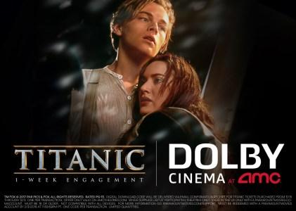 К 20-летию выхода фильма «Титаник» Джеймс Кэмерон объявил о возвращении картины в кинотеатры в формате Dolby Vision