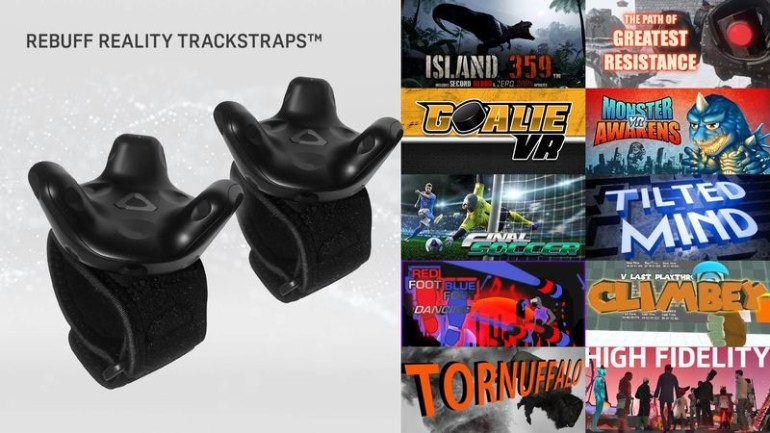 """HTC будет продавать наборы из аксессуаров и трекеров Vive, которые позволят """"перенести"""" реальные предметы в виртуальный мир"""