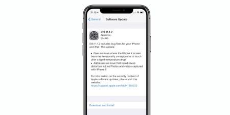 Apple исправила проблему с экраном iPhone X в новом обновлении iOS 11.1.2 – он больше не боится холода. «Калькулятор» пока решили не трогать