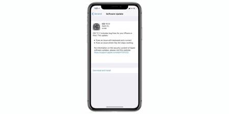 Apple выпустила обновление ОС iOS 11.1.1, исправляющее проблемы с клавиатурой и Siri