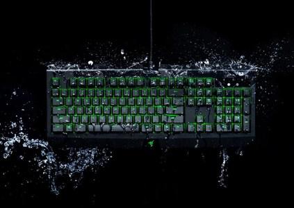 Razer создала игровую клавиатуру BlackWidow Ultimate с защитой от пролития жидкости