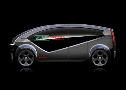 Анонсирован беспилотный электрический минивэн Fisker Orbit для перевозки пассажиров, поставки начнутся в конце 2018 года