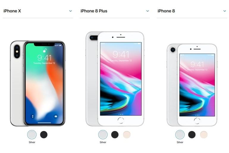 DigiTimes: Apple рассматривает возможность снизить ценники на смартфоны iPhone X, iPhone 8 и 8 Plus уже весной из-за недостаточно высокого спроса