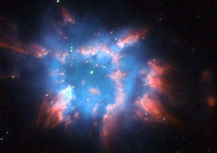 Телескоп Hubble запечатлел «праздничный фейерверк» в космосе