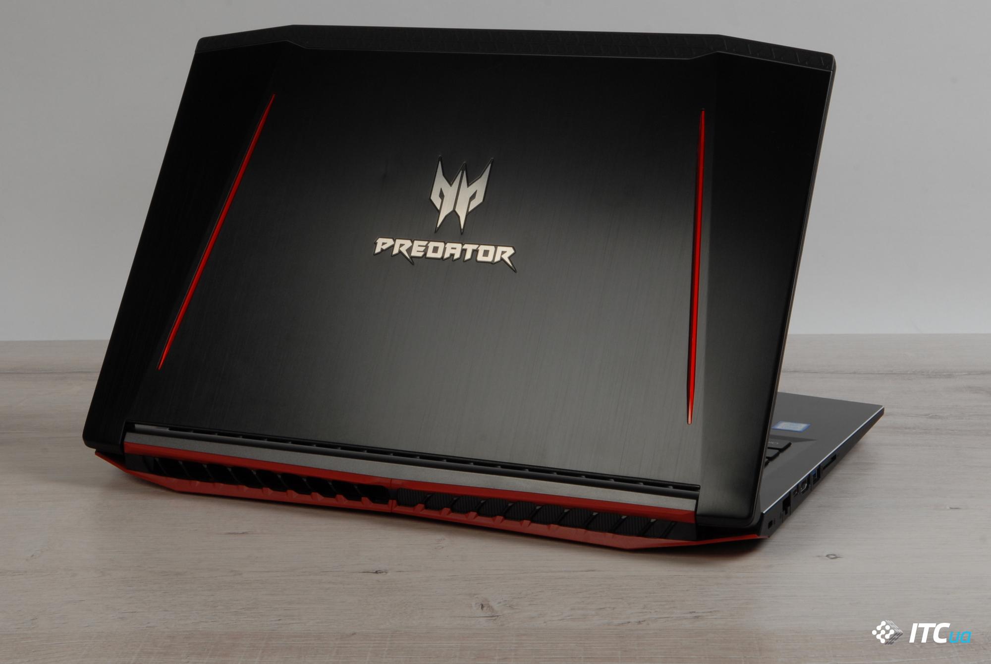 Обзор игрового ноутбука <b>Acer</b> Predator Helios 300 - ITC.ua