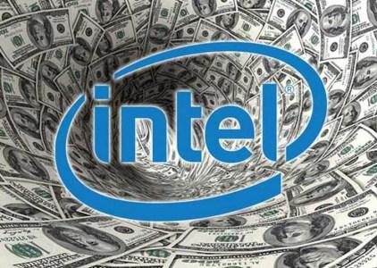Intel отчиталась о рекордных доходах, хотя прибыль упала из-за налоговой реформы в США