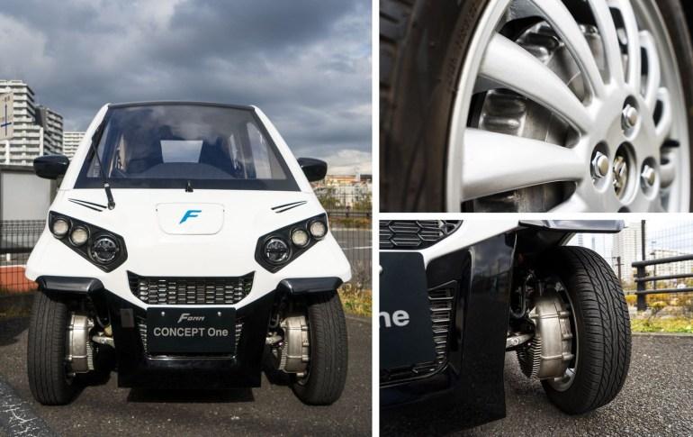 Бывший сотрудник Toyota создал первый в мире электромобиль-амфибию Fomm