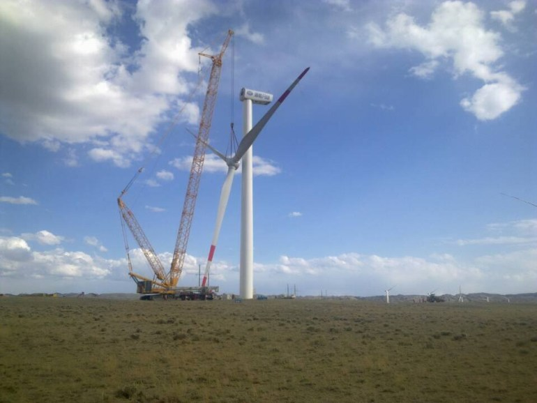 В этом году в Николаевской области может начаться строительство ветроэлектростанции мощностью 500 МВт, которая станет крупнейшей в Восточной Европе