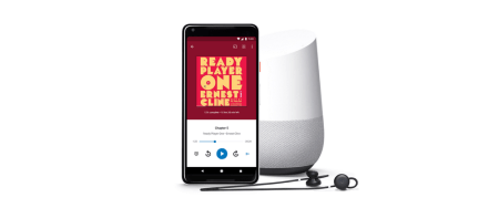 В магазине Google Play появился раздел с аудиокнигами