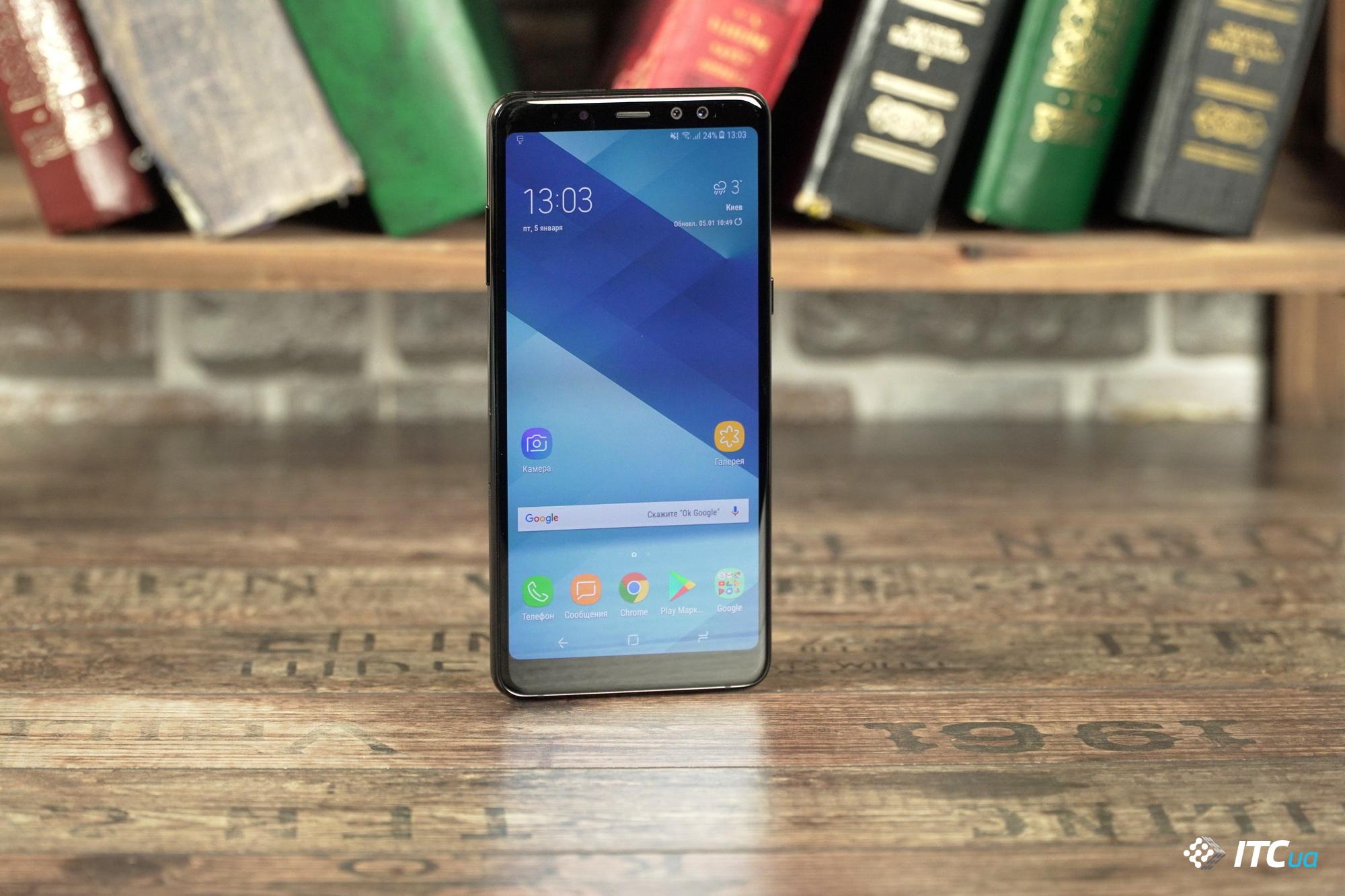 Обзор Samsung Galaxy A8+ (<b>2018</b>) - ITC.ua