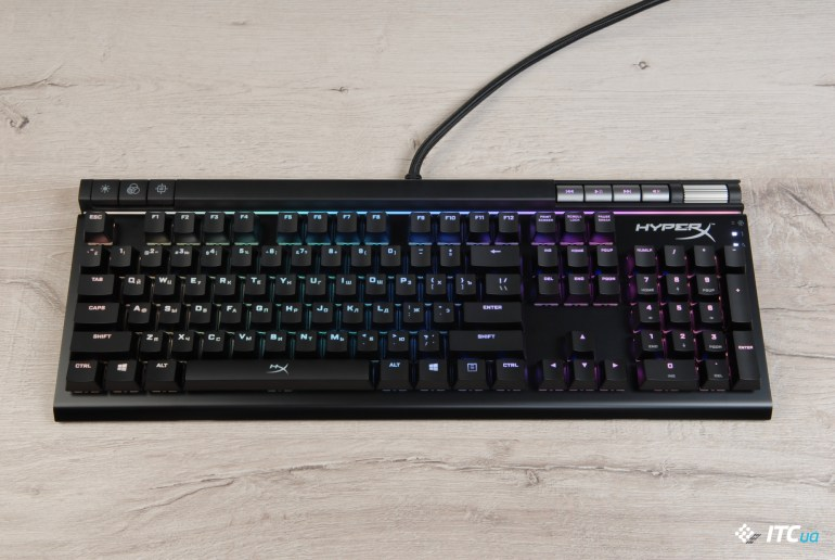 Обзор игровой клавиатуры HyperX Alloy Elite RGB