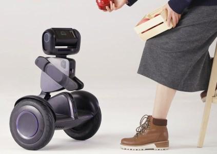 Робот Segway Loomo может использоваться в качестве гироскутера, тележки или системы наблюдения