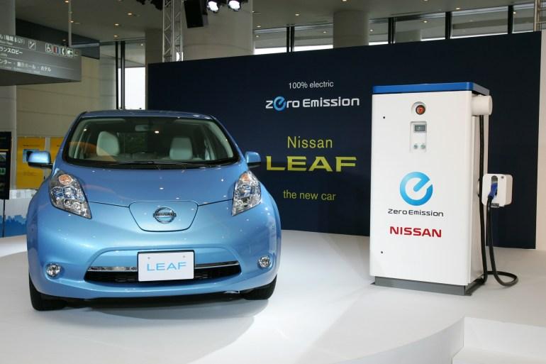 Nissan установил рекорд, выпустив 300 тыс. электромобилей Nissan Leaf за все время существования модели