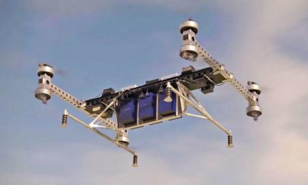 Грузовой дрон Boeing способен перевозить грузы массой до 227 кг